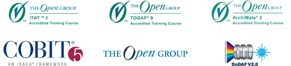 The Open Group accredited training courses: IT4IT, TOGAF, ArchiMate